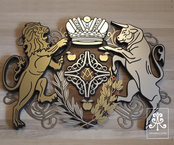 герб семьи на заказ