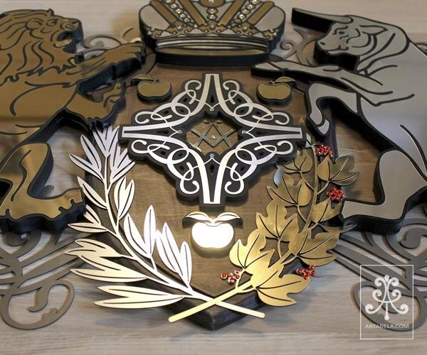 символика семейного герба