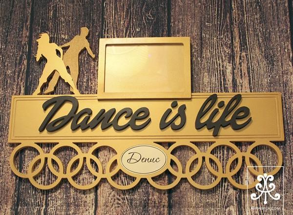 медальница для танцев