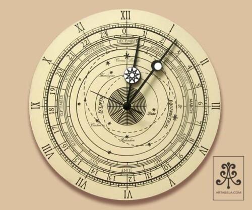 солнечная система настенные часы