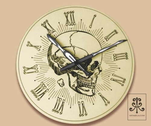 настенные часы от студии Артабела