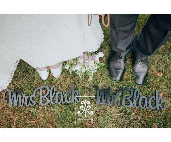 общая фамилия на свадьбу