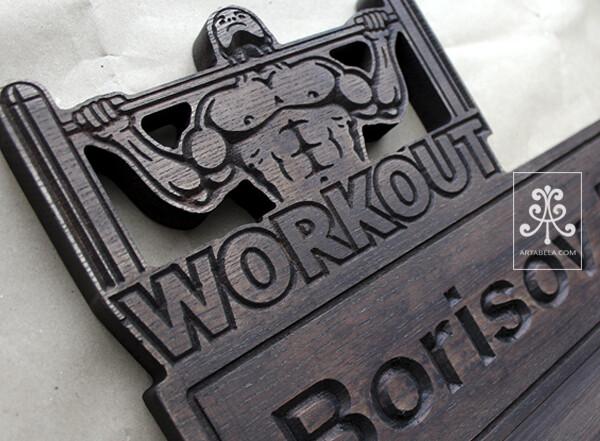 медальница с полкой для кубков